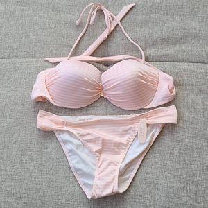 VS Bikini Set Size 34D bra & bottoms Size M
